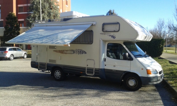 Camper Mod. DUERRE START 401 su base Ford Transit